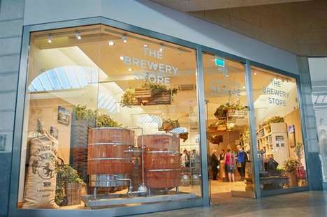 Pop-Up Brewery Shops - Shepherd Neame Launched a Brewery Inside a Shopping Center