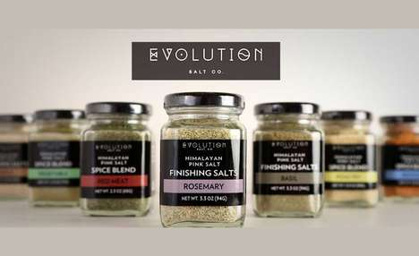 Natural Ingredient Finishing Spices - The Evolution Salt Co. Gourmet Seasonings are 100% Natural