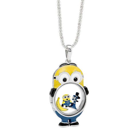 Customizable Cartoon Jewelry - Origami Owl's Despicable Me Pieces Can Be Personalized with Charms