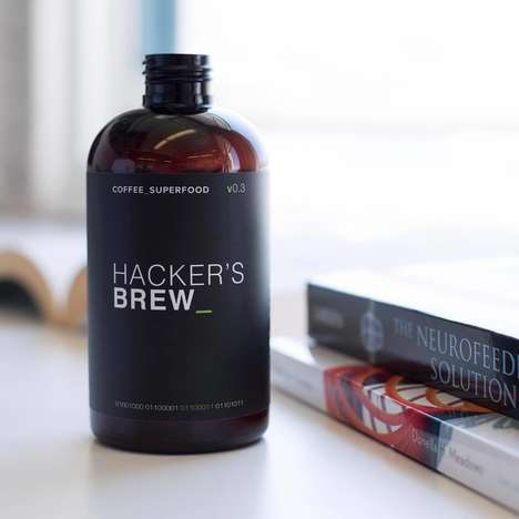 Brain-Boosting Cold Brews - Hacker's Brew Combines Coffee and Nootropics to Boost Cognitive Function