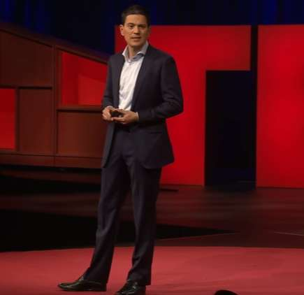 Obligated to Assist Refugees - David Miliband Gives a Speech About Refugees and Helping Them