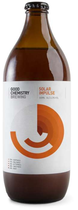 Science-Inspired Beers - Good Chemistry's Solar Impulse is Easy-Drinking and Hop-Focused