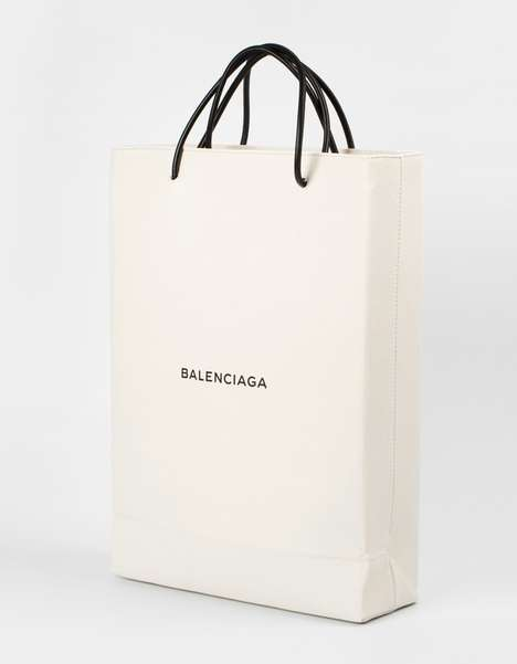 Luxury Shopping Bags - This Balenciaga x Colette Collaborative Luxury Shopping Tote Costs $1,100