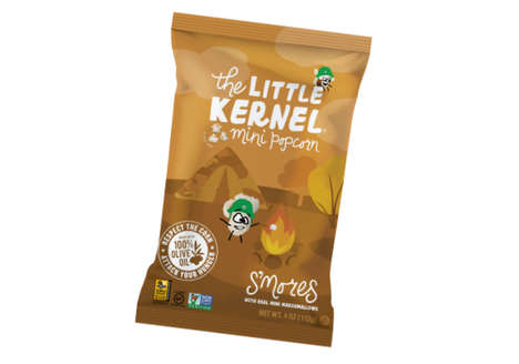 S'mores-Flavored Popcorn Snacks - The Little Kernel's S'mores Flavor Blends Popcorn and Marshmallows
