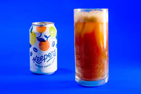 Citrus-Flavored Coffee Sodas