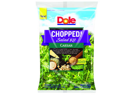 Crispy Quinoa Salad Kits - Dole's Chopped Caesar Salad Kit Includes Quinoa as a Feature Ingredient