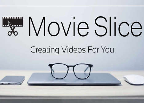 Automated Video Editing Software - The 'MovieSlice' Automatic Video Editor Creates Quality Content