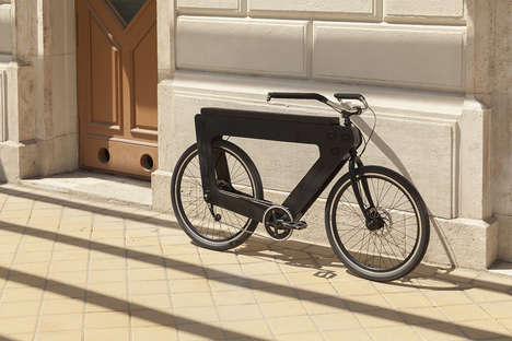 Elongated Two-Person Bikes - The 'REVO' Bike is Composed of 3D-Printed Materials