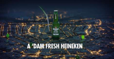 Personally Brewed Beers - Heineken Amsterdam is Competing with Microbreweries in This New Stunt