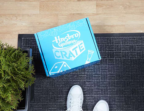 Board Game Subscription Services - The Hasbro Game Crate Delivers New Games Every Three Months