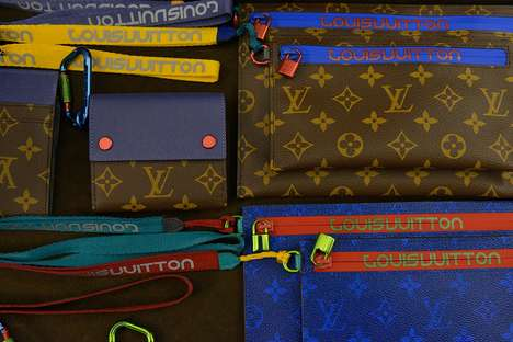 Alpine-Inspired Luxury Lines - Louis Vuitton's Spring Collection Takes Athleisure to the Next Level