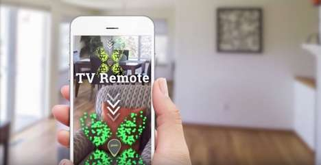 Augmented Reality Item Finders - The 'Pixie' Uses Visualizations to Show You Item Locations