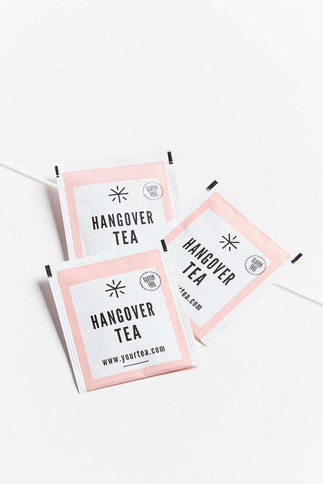 Hangover-Curing Tea Blends