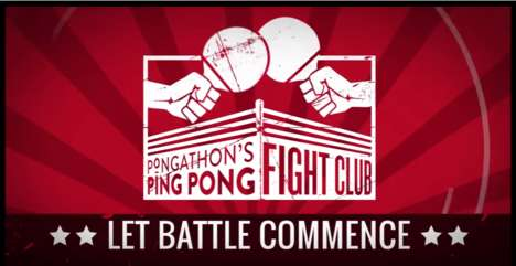 Team-Building Ping-Pong Events - Ping-Pong Fight Club Helps Employees Bond Over Table Tennis