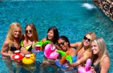 Drink-Sized Pool Floats