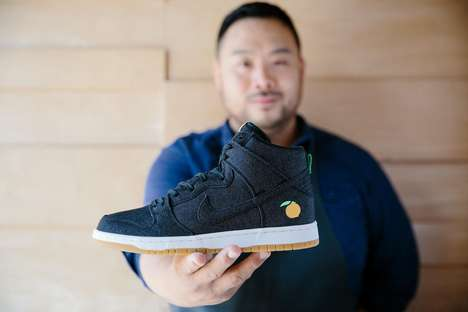 Restaurant Sneaker Purchases - Nike's Momofuku Sneakers Can Only Be Purchased by a Photo of the Menu