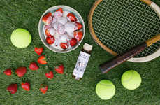 Strawberry Cream Spirits - Sipsmith's Strawberries and Cream Gin Liqueur Takes Cues from Wimbledon