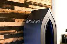 Private Meditation Pods - A BuddhaBooth Station Creates a Tranquil Space for Meditation