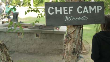 Wilderness Culinary Retreats - 'Chef Camp' Takes Team-Building to the Woods