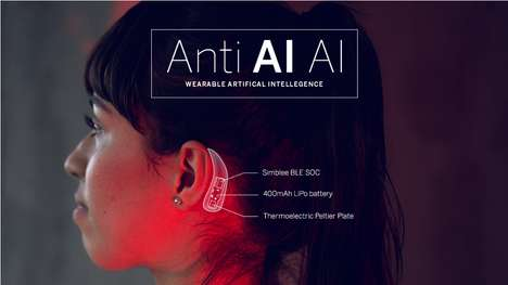 Chill-Sending AI Wearables - The Anti AI AI Device Gives You the Chills When It Detects a Fake Voice