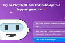 Party-Finding Chatbots - Party Bot Finds Nearby Events Curated by Locals