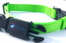 Discreet Pet-Tracking Collars