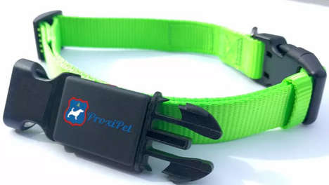 Discreet Pet-Tracking Collars - The ProxiPet Collar Lets You Easily Keep Tabs on Your Dogs and Cats