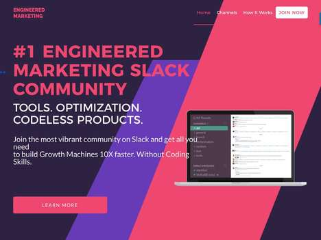 Codeless Newsletter Services - Startup Engineered Marketing is a Slack Community Dedicated to Growth