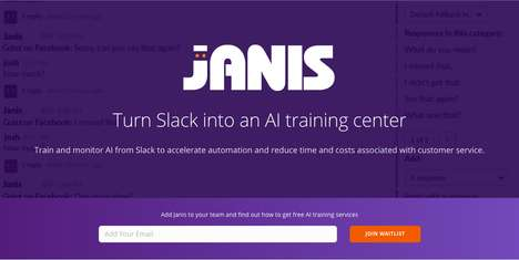 Customer Service Bot Training - Startup Janis Lets You Use Slack to Train AI Customer Service Agents