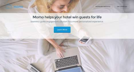 Hospitality Concierge Smartphones - Momo is a Mobile Concierge for International Travellers
