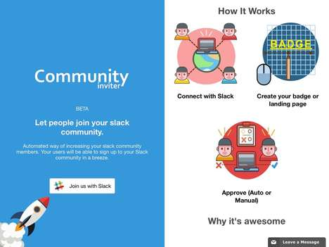 Automated Messaging Community Invitations - Startup Community Inviter is for Slack Communities