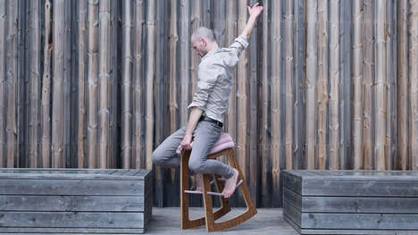 Fidget-Friendly Office Furniture - The Muista Seating Chairs Let You Rock, Balance and Shift