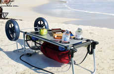 Multifunctional Beach Carts