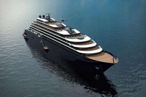 Hotel Brand Yachts - The Ritz-Carlton Yacht Collection Offers Luxury Amenities on the Water