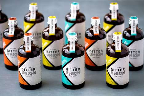 Natural Micro Batch Bitters - Bitter Union Offers a Range of Distinct Flavors