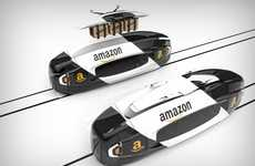 eCommerce Delivery Trains - The Amazon 'Iris' Trains Expand Existing Infrastructure for Delivery