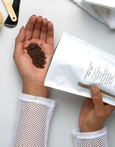 Caffeine-Infused Body Scrubs