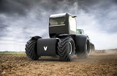 Autonomous Electric Tractors - The 'Norss' Tractor Features a Simple Design to Get Jobs Done Quick