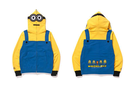 Collaborative Cartoon Apparel - BAPE Released a New Line of Minions Clothing for the Summer