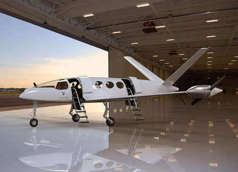 Lightweight Efficient Electric Airplanes - The Eviation 'Alice' Offers Up to 600 Miles of Range