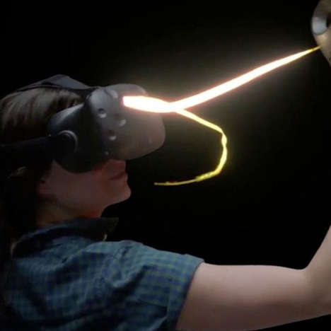 Virtual Reality Event Spaces - 'Jump Into The Light' Offers Immersive VR Experiences for Events