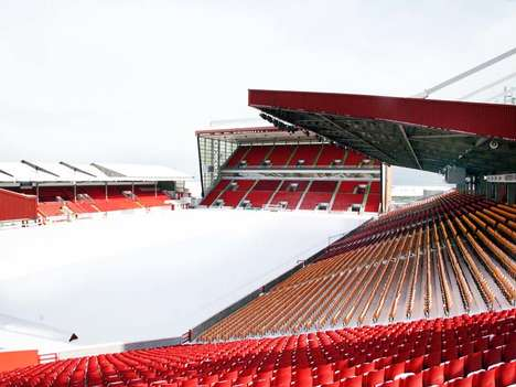 Football Stadium Screenings - Pittodrie Events is Hosting Corporate Clients for Outdoor Movie Nights