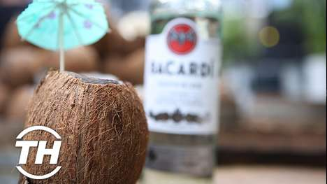 Whole Coconut Cocktails