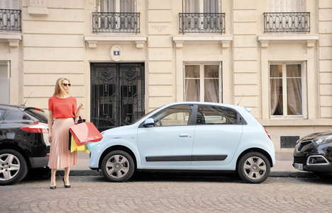 Car-Coordinating Nail Polishes - Renault's 'Twingo Nail Polish' Doubles as Car Touch-Up Paint