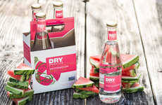 Non-Alcoholic Summer Sodas - The Dry Sparkling Watermelon Craft Soda Has a Premium Recipe