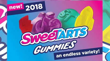 Endless Variety Gummy Candies - The SweeTarts Gummies Come in Random Shapes and Styles