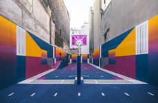 Vivid Co-Branded Basketball Courts