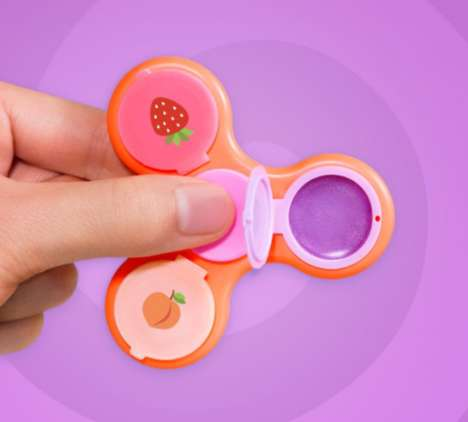 Fidget Spinner Lip Balms - The Glampsin Takes Advantage of the Current Popularity of Fidget Spinners