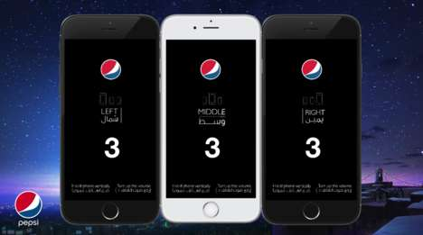 Multi-Screen Ads - Pepsi's 'Let's get Together' Campaign Unfolds Across 3 Phone Screens
