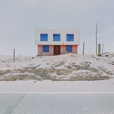Agoraphobic Travel Photography - Jacqui Kenny Sees the World Through Google Street View Shots